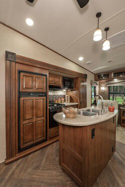 Illinois Sundance RV Kitchen