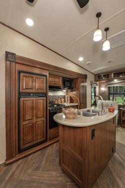 Illinois Sundance RV Kitchen