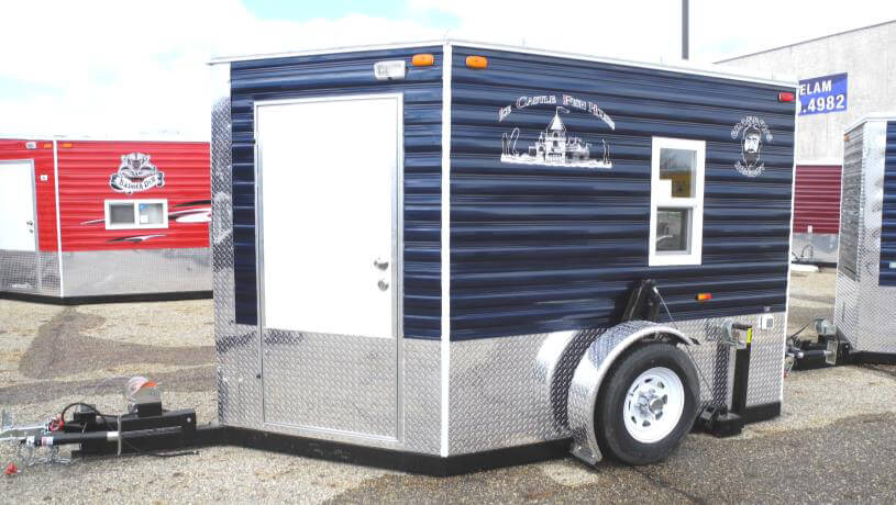 Grandpa 39 s hideout fish house trailers in minnesota for Fish house trailer