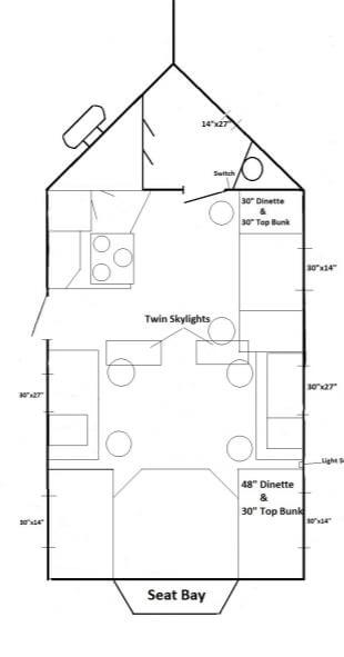 Mille lacs fish house trailers in minnesota for Ice castle fish house floor plans