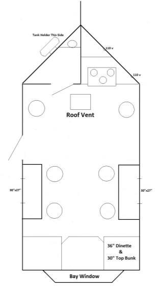 Crappie Villa Fish House Trailers In Minnesota - Ice castle fish house floor plans