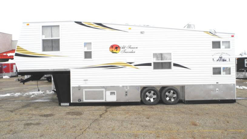 all season 39 s traveler fish house trailers in minnesota