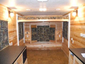 Handicap Accessible Rv Fish House Trailers In Minnesota