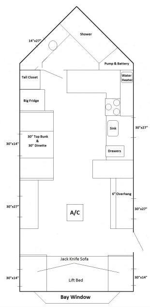 Ice castle fish house floor plans kings castle for Ice castle fish house floor plans