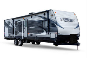 an example of thetravel trailers we have for sale in oklahoma