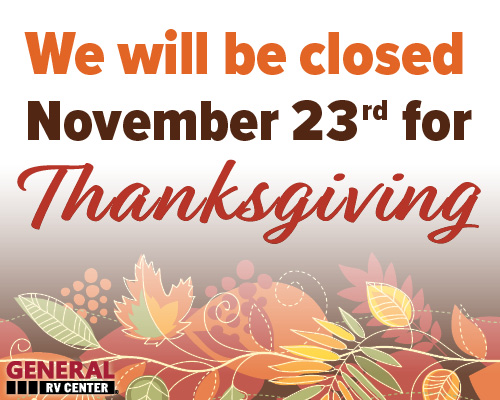 Closed For Thanksgiving Homepage Slide Mobile