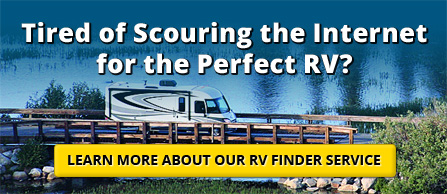 Learn More About Our RV Finder Service