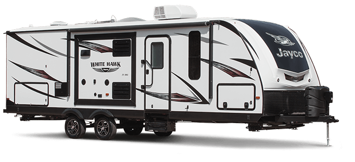 White Hawk Travel Trailer