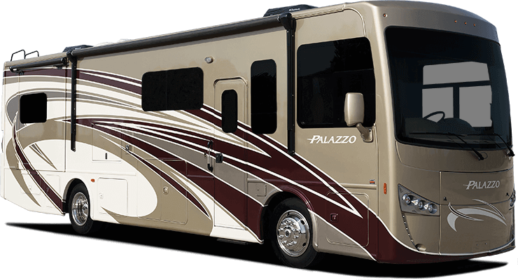 palazzo class a diesel motor home
