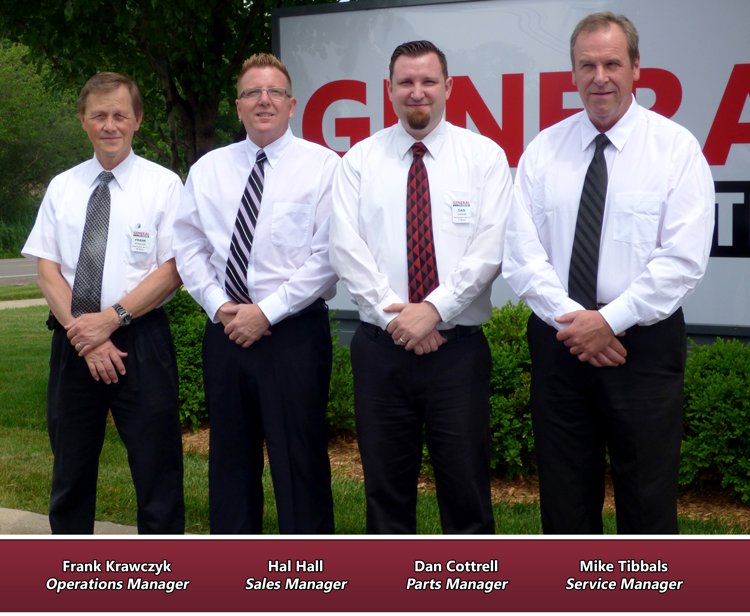 The General RV Brownstown, MI Management Team