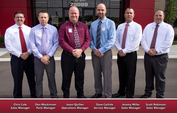 The General RV Wixom, MI Management Team