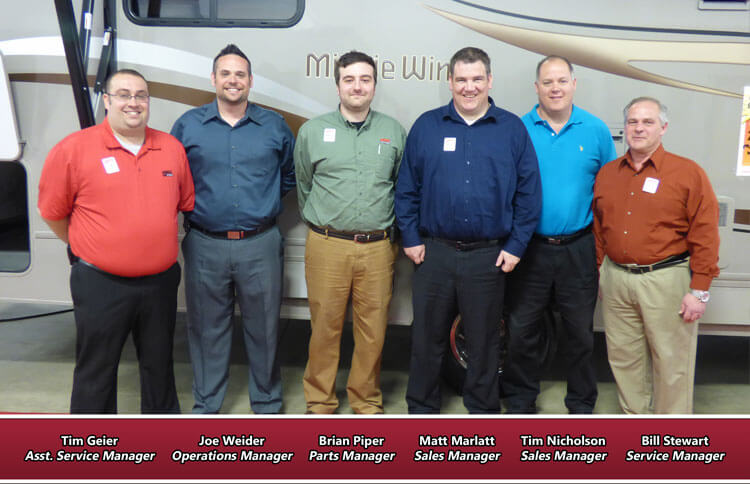 The General RV North Canton, OH Management Team