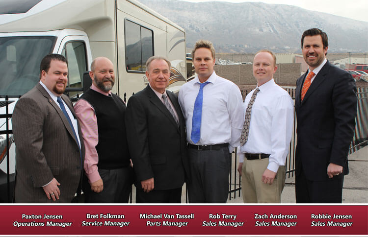 The General RV Draper, UT Management Team