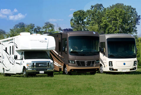 an image of a Holiday Rambler motor homes brand