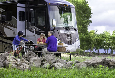 An image of an Itasca Motorhome