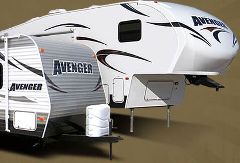 An image of Avenger, a Prime Time Fifth wheel brand