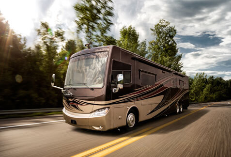 An image of a Tiffin Motorhome