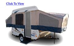 21' Fold Down Camper
