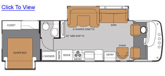 Hurricane 32A Floor Plan