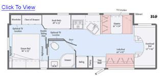 Minnie Winnie 31G Floor Plan