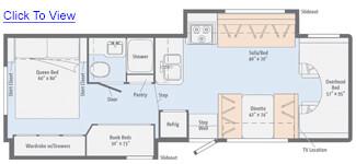 Minnie Winnie 31H Floor Plan