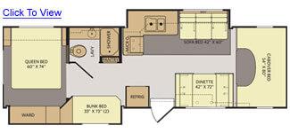 Tioga 31N Floor Plan