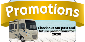 RV Rental Promotions