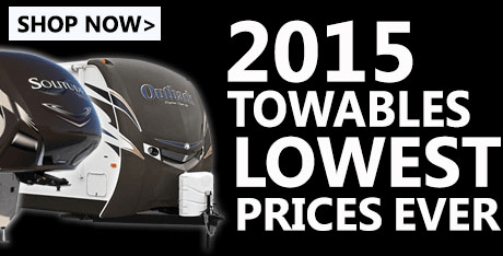2015 Lowest Towable Price Ever