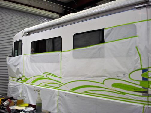 Rv Paint Shop And Body Shop Custom Paint And Design
