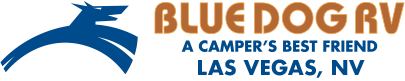 Blue Dog RV Las Vegas Logo