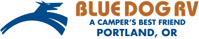 Blue Dog RV Portland Logo