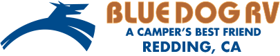 Blue Dog RV Redding Logo