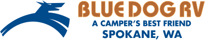 Blue Dog RV Spokane Logo