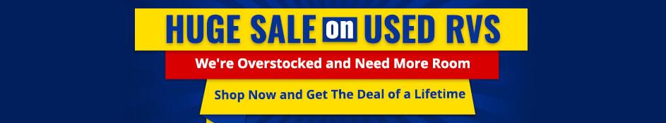 Huge Sale on Used RVs