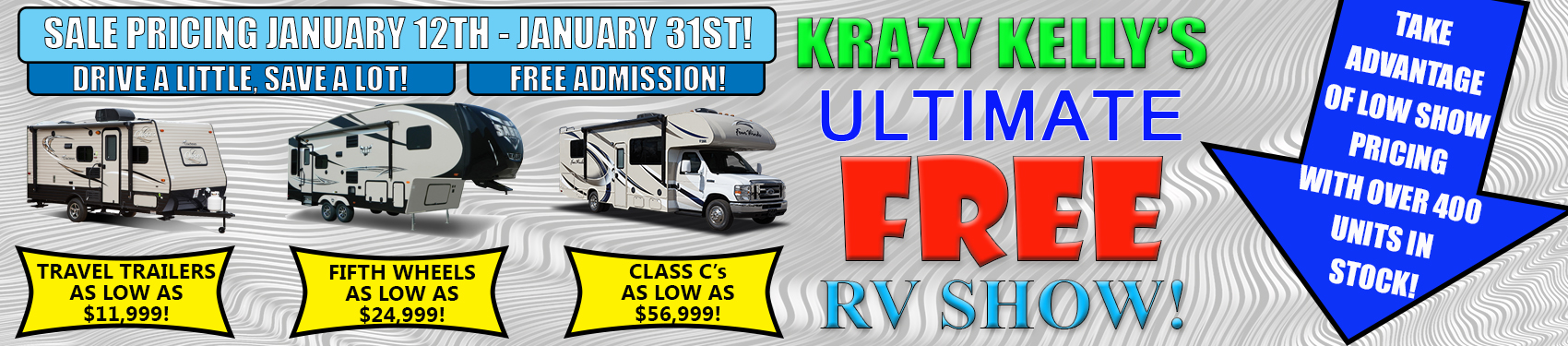 Beckley's Camping Center - FREE RV SHOW