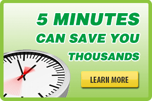 5 min can save you thousands