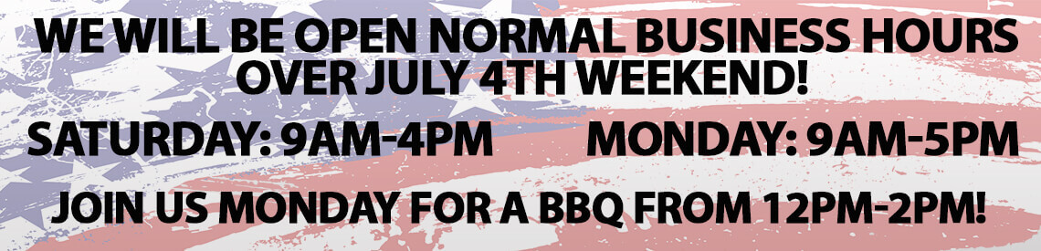 July 4th at Beckley's Camping Center!