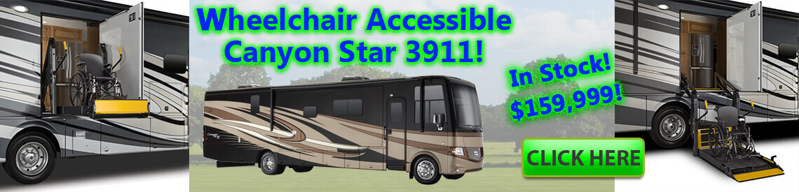 Wheelchair Accessible Class A Motorhome!