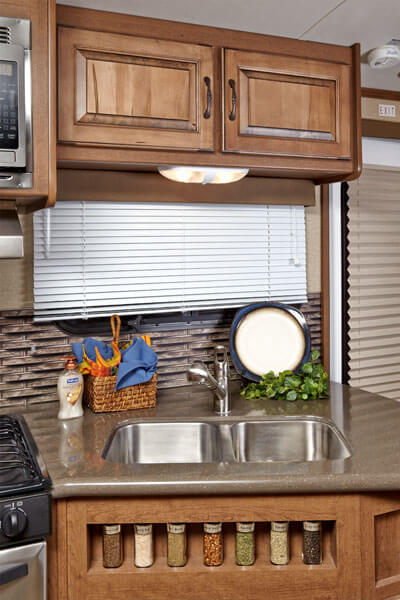 Cruiser Enterra RV Kitchen Near Chicago IL