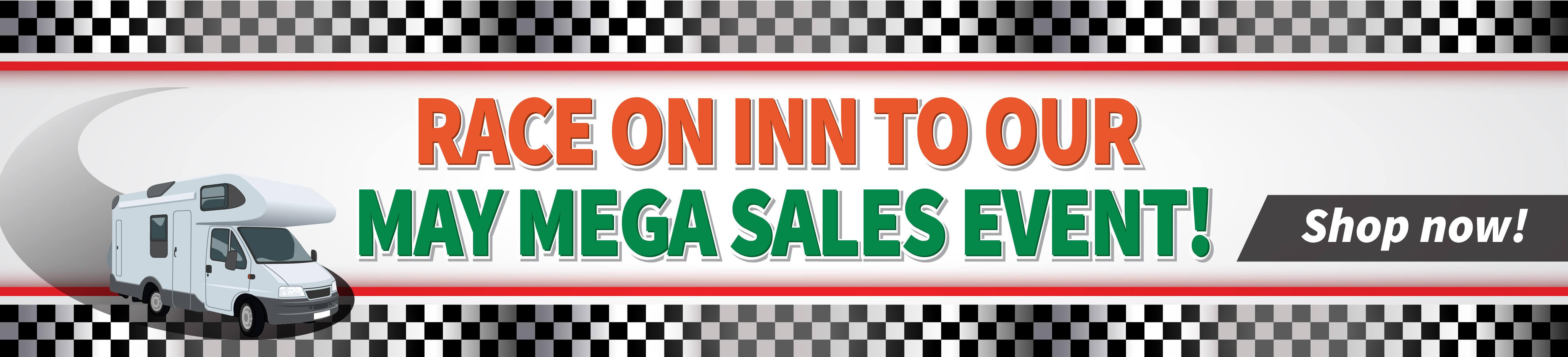 May Mega Sales Event