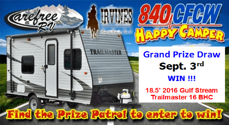 Happy Camper Contest - WIN FREE GulfStream Trailer