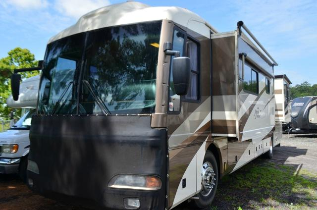 Used 2003 Fleetwood RV American Tradition 40Q Class A Diesel Pusher Motorhome For Sale