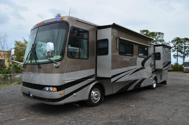 Used 2005 Holiday Rambler Endeavor 40PDQ Class A Diesel Motor Home For Sale 0201