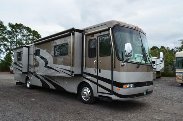 Used 2005 Holiday Rambler Endeavor 40PDQ Class A Diesel Motor Home For Sale 0202