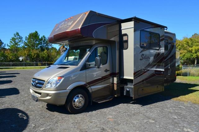 Used 2012 Forest River Solera 24MSLED Diesel Class C Motorhome For Sale 0069