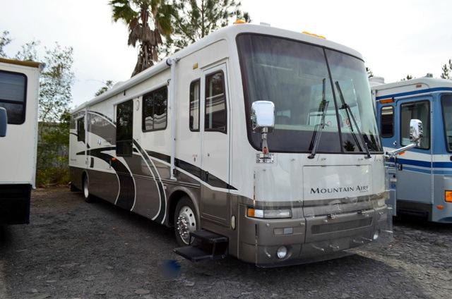 Used 2000 Newmar Mountain Aire 40 Class A Diesel Pusher Motor Home For Sale 0098