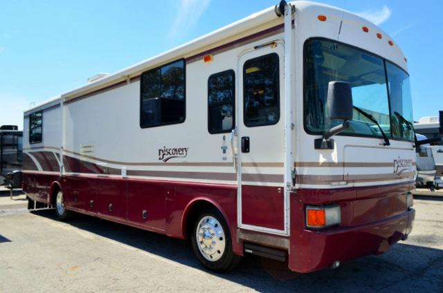 Used 1998 Fleetwood Discovery 36T Diesel Pusher Class A Motor Home For Sale 0068