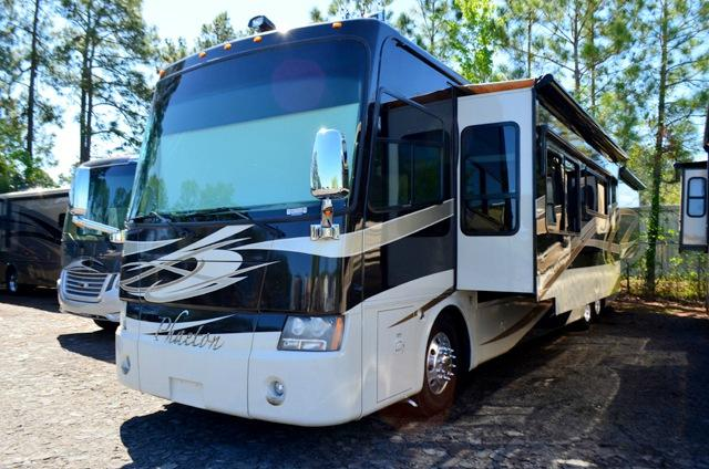 Used 2009 Allegro Phaeton 42QHR Class A Diesel Pusher Motor Home For Sale 0001