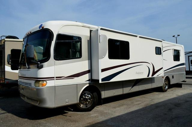 Used 1999 Holiday Rambler Endeavor 37WD Class A Motor Home For Sale 0001