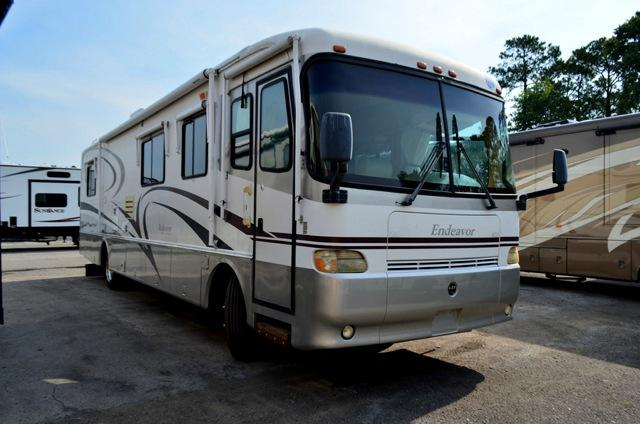 Used 1999 Holiday Rambler Endeavor 37WD Class A Motor Home For Sale 0002
